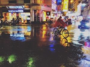 once upon a rainy night in Kowloon